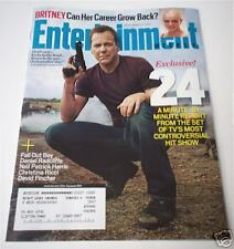 "KEIFER SUTHERLAND ""24"" Entertainment Weekly Magazine"