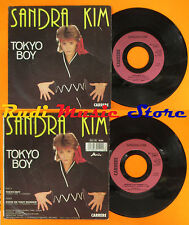 LP 45 7'' SANDRA KIM Tokyo boy Envie de tout donner 1986 belgique cd mc dvd vhs