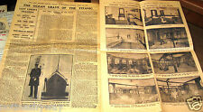 1912 TITANIC Newspaper Daily Graphic Vintage Retro Rare Disaster Magazine Report