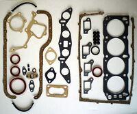 FULL ENGINE HEAD GASKET SET FIT FORD CAPRI CORTINA TRANSIT PINTO OHC 1.6 1970-83