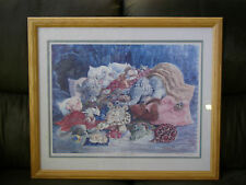 """Limited Edition """"Slumber Party"""" Framed Lithographic Reproduction by Ron Rodecker"""