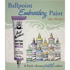 Aunt Martha's Ballpoint Paint Tubes 1 Ounce - 050723