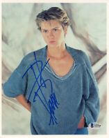 RIVER PHOENIX SIGNED AUTOGRAPHED 8x10 PHOTO EXTREMELY RARE TRAGIC BECKETT BAS