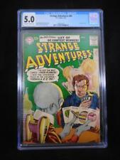 Strange Adventures #80    CGC 5.0   Off White to White Pages   Grey Tone Cover