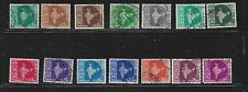 INDIA - 275 - 288, 289, 291 - 294, 295, 297 - 300 - USED - 1957 - 1958 ISSUES