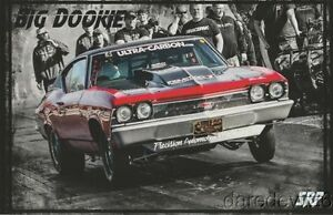 """2016 Shannon Poole """"Big Dookie"""" '69 Chevelle Street Outlaws PRI Show Hero Card"""