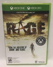 Rage (Microsoft Xbox 360, 2011) Xbox One Not Mint