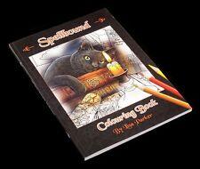 Spellbound Malbuch by Lisa Parker Fantasy Gothic Kinder Erwachsene