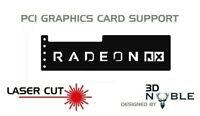 BLACK - RADEON - GPU Anti-Sagging Support Bracket/Brace GTX NIVIDA AMD ROG