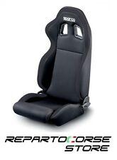 Sedile Sportivo Tuning SPARCO R100 Fascia Nera