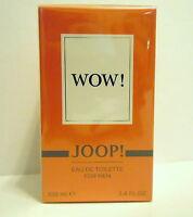 JOOP WOW  100ml Eau de Toilette Spray for MEN HERRENDUFT  NEU Folie OVP FOLIE