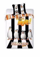 Original Disney die Penguine von Madagascar Bettwäsche 160x200 ÖkoTex Baumwolle
