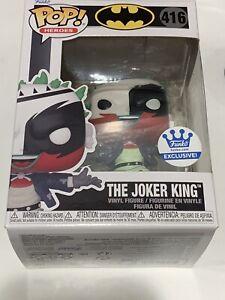 Funko POP! Batman Beyond: BATMAN #415 & THE JOKER KING #416