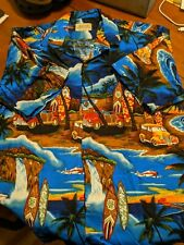 MEN'S SHIRT - ROYAL HAWAIIAN CREATIONS SIZE XL - PRE-OWNED GREAT CONDITION - G1