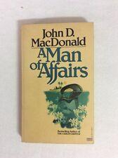 A Man Of Affairs By John D MacDonald Fawcett Gold Medal (PB)- Good