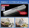 Wenko Foil Cling Film Dispenser Perfect Cutter Silver
