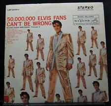 Elvis Presley - 50,000,000 Elvis Fans Can't Be Wrong LP Mint- LSP 2075 Record