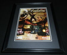 Ghosthunter 2004 PS2 Framed 11x14 ORIGINAL Vintage Advertisement