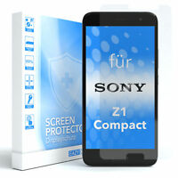 1x SCHUTZGLAS FÜR Sony Xperia Z1 Compact PANZER DISPLAYFOLIE ECHT GLAS 9H