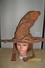 ADULT HARRY POTTER SORTING BROWN HAT COSTUME RU49953