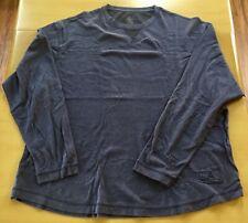Ascend Mens Blue Xtra Large Long Sleeve Hiking Shirt EUC