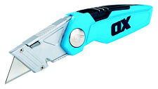 Retractable Ulity Knife - Knife Folding - OX - Tilers Tiling Tools