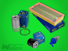FS092 INSPEKTIONSPAKET Luftfilter Ölfilter Dieselfilter MERCEDES W124 250 D