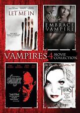 Let Me In / Embrace of the Vampire / Slayer / TheThirst (DVD 4 disc) NEW