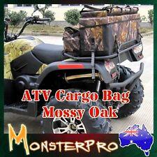 ATV Hunting Rear Rack Bag Camo Mossy Oak With Gun Bag ATV QUAD Bike UTV Buggy