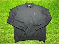 Vintage National Basketball Association New York Nets Men's 1/4 Zip Sweater XL
