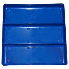 3 Compartment 10.5in x 10.5in Organizer Tray