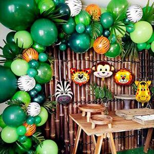 109pcs Safari Jungle Party Decorations Balloon Kit Arch Garland Birthday Weding