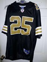 Reggie Bush New Orleans Saints NOLA NFL Reebok Vintage football SEWN Jersey - M