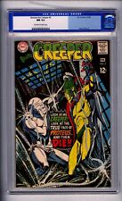 CGC (D.C) BEWARE THE CREEPER, D.C DITKO, 5 NM 1969 CRACKED CASE