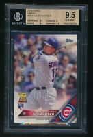 2016 Topps Limited #66 Kyle Schwarber RC Cubs Rookie BGS 9.5