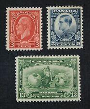 Ckstamps: Canada Stamps Collection Scott#192-194 Mint H Og