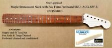 New Unfinished Stratocaster Maple Neck with Pau Ferro Fretboard