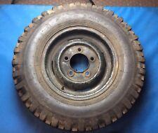 "Land Rover Defender 16"" Steel Wheel With Dunlop Roadtrak Tyre #001"