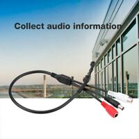 Micro Audio Recolector Dispositivo Sonido Recoger hasta para CCTV Cámara DVR