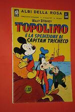 ALBI DELLA ROSA- POI albi di TOPOLINO - N°138 -mondadori disney anno 1957 -casa