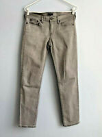 """J. Crew Toothpick Size 28 Midrise Skinny Jeans Gray 8"""" Front Rise"""