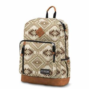 "Trans by JanSport 18"" Dakoda Backpack - Soft Tan Southwest"