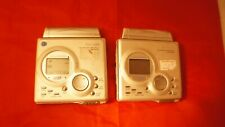 lot of 2 - Sharp Md-Mt88 Portable Recorders used minidisc players recorders