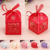 100/50/25 CandyGift Boxes WeddingFavour SweetGift Boxes Party Wedding Decoration