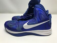 Nike 2012 Zoom Hyperfuse Bright Blue & White 525019-400 Mens Size 11 Preowned