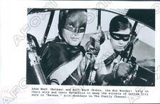 1989 Actor Adam West & Burt Ward in Batman Press Photo