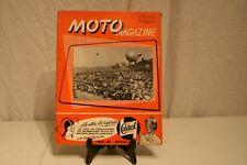 ANCIENNE REVUE  MOTO MAGAZINE DE 1956.