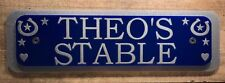 Custom Stable Door Signs, Horsey Pony Competition Title, Horse Name - Plaques1
