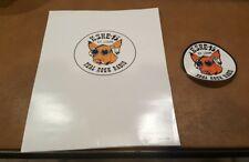 Vintage  KSHE 95 Radio Real Rock Radio Bumper Sticker St. Louis School Paper