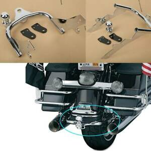Chrome Trailer Hitch Ball Fit For Harley Electra Road King Tour Glide 1994-2008